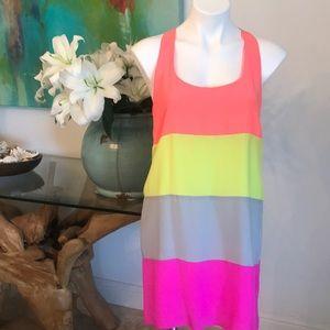 Neon Silk T dress by Alice & Trixie 🌼 Size M